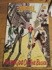 New Kids On The Block Comic Book New 1St Pressing Revolutionary Comics 1990 #12