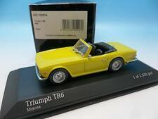 MINICHAMPS TRIUMPH TR6 1968 YELLOW 430 132574 1/43