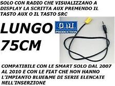CAVO SOLO AUDIO AUX IN MP3 IPOD IPHONE IPAD FIAT GRANDE PUNTO 500 159 LANCIA
