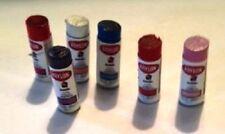 Dollhouse Miniature 6 Spray Paint Cans Kit - 1:12 Scale