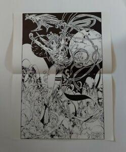 Spawn Angela Image Comics Poster by Jim Lee Todd McFarlane 1993?
