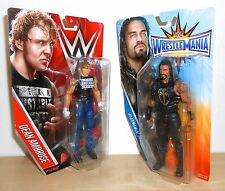 WWE - Dean Ambrose vs Roman Reigns  - Mattel Basics - wrestling figures