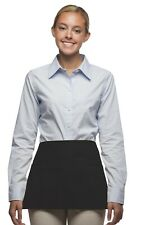 DayStar Aprons 36 pack Style 100 three pocket waist BLACK apron ~ Made in USA