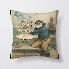 Lifebuoy Soap Advert Sailor Cushion Covers Pillow Cases Home Decor or Inner