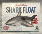 Wembley 5 1/2 Foot Length Great White Shark Pool Float for Pool or Beach NIB