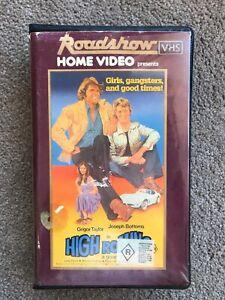 Vintage Aussie Movie HIGH ROLLING VHS ROADSHOW HOME VIDEO Ex Rental Corvette