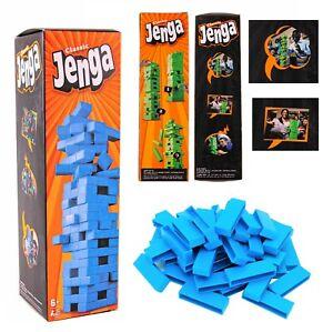 TUMBLING TOWER MINI Traditional Mini Plastic Stacking Travel Family Game Blocks