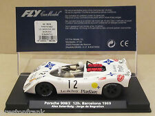 FLY 88248 Playboy Porsche 908/2 Spyder No12 1969 12 Hour Barcelona 1:32 Slot Car