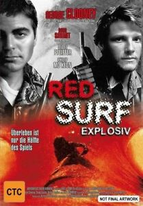 Red Surf (DVD, 2001) Early George Clooney movie 1989 RARE
