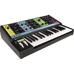 Moog Grandmother 32 Key Semi-Modular Analog Keyboard Synthesizer