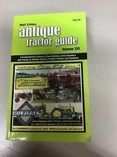 Hot Line , Antique Tractor , Blue Book Farm Equipment Guide, 2016/2017 edition