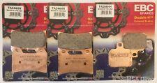 Ducati Hypermotard 1100 EVO (2010 to 2012) EBC Sintered FRONT & REAR Brake Pads