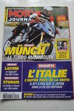 MOTO JOURNAL N°1505 2002 FRIEDEL MUNCH MAMMUT 2000 LACONI APRILIA ATLANTIC 500