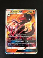Salazzle GX 25/147 - Burning Shadows Near Mint Pokemon Card Game