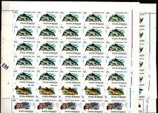# 25X ROMANIA 1992 - MNH - FISH - WHOLESALE