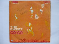 THE SWEET - CO-CO / DONE ME WRONG ALL RIGHT 45/7 SINGLE GLAM ANGOLA UNIQUE COVER