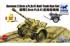 BRONCO CB35034 1/35 German 2.8cm s.Pz.B.41 Anti-Tank Gun Set