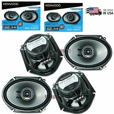 "4x Kenwood 360W KFC-D681C  6x8"" car audio  Speakers replacement of kfc-6895ps"