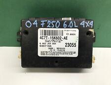 04 Ford F250 6.0L 4x4 Multifunction Anti Theft Keyless Module 4C7T-15K602-AE