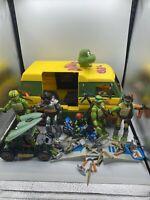 Teenage Mutant Ninja Turtles Action Figure Lot - Rare 2006 2007 2008 Carl's Van