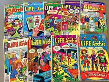 9 LIFE WITH ARCHIE Comics Bronze Age Riverdale  Betty Veronica JUGHEAD Lot D40