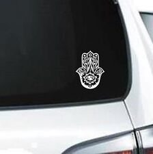 B154 Hamsa Hand Symbology Protection vinyl decal laptop car truck van suv