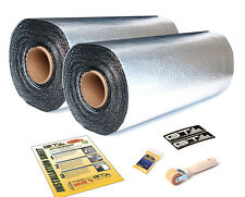 GTMAT Supreme 110mil 10 SQFT Car Sound Deadener Material Noise Damepner 2 Rolls