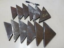 "Steel Welding Gusset, 3/8"" x 4"" x 4""  Lot of 12"