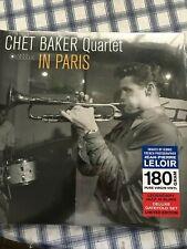 Chet Baker/Chet Baker Quartet-In Paris (Vinyl, Jan-2017, Jazz Images)