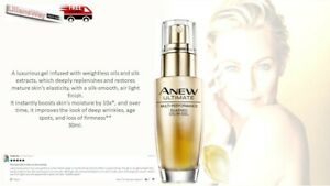 Avon Anew Ultimate Silkened Oil-in-Gel Multi-Performance~FULL SIZE 30 ml