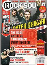 ROCK SOUND 159 April 2012 ENTER SHIKARI Pure Love Andy Biersack All Time Low  CD