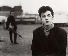 "The Beatles  Paul McCartney and Stuart Sutcliffe 14 x 11"" Photo Print"