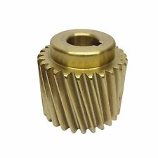 "Bronze Motor Pinion Gear for Crypto Peerless C28 Potato Peerler 5/8"" Shaft. LKS"
