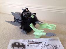 Batman Hoverbat Vehicle & Batman - Complete - EUC