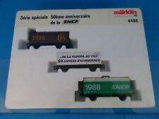 "Marklin 4488 SNCF Car set ""50 years SNCF"""