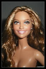 NUDE BARBIE (B) BRUNETTE JLO JENNIFER LOPEZ CELEBRITY MODEL MUSE DOLL FOR OOAK