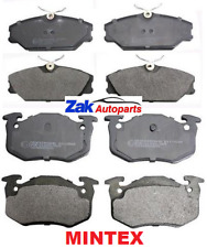 FOR RENAULT CLIO MK2 172 182 CUP FRONT & REAR MINTEX BRAKE DISC PADS SET NEW