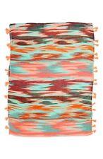 Capelli Nordstrom Multi Colored Navajo Tassel Scarf NWT