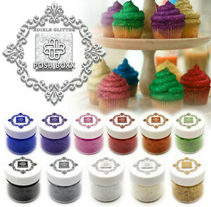 1/4oz Real Edible Glitter 100% Food Safe - Sparkle Flakes -  BUY 3 GET 1 FREE