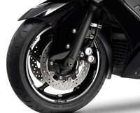 STRISCE ADESIVE per CERCHI compatibili per YAMAHA T MAX scooter TMAX 2001-2007