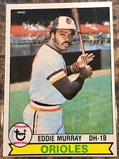 1979 Topps Eddie Murray #640 - Baltimore Orioles -MLB Hall of Fame First Baseman