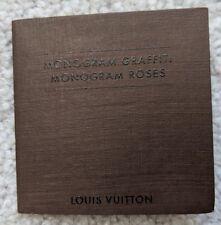 Louis Vuitton MONOGRAM GRAFFITI MONOGRAM ROSES Booklet Vintage