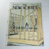The New Yorker: March 22 1969 Cover James Stevenson Construction full magazine