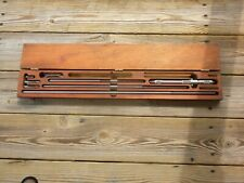 Used Starrett Inside Micrometers 8 32 124 Series Set 4