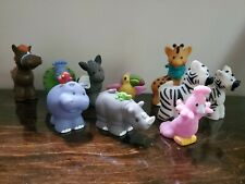 Mattel Fisher Price Little People Lot of 10 Animals Birds