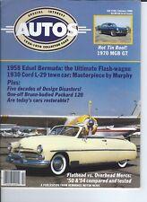 SPECIAL INTEREST AUTO - #103 / 1958 EDSEL BERMUDA / 1930 CORD L- / 50 & 54 MERC
