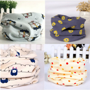 Kids Ring Scarf, Snood for Boys and Girls - FAST FREE SHIPPING - Cute Designs