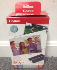 NOS Canon KP-72IP Compact Photo Paper & Color Ink Cartidge Cassette NEW OOP RARE