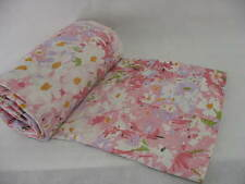 Fashion Manor Pink Floral Double Flat Sheet Full Vintage JCP