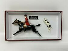 W Britains 49500 - Heritage Collection, Huntsman Mounted with Hound